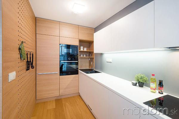 Minimalistický byt v príjemných