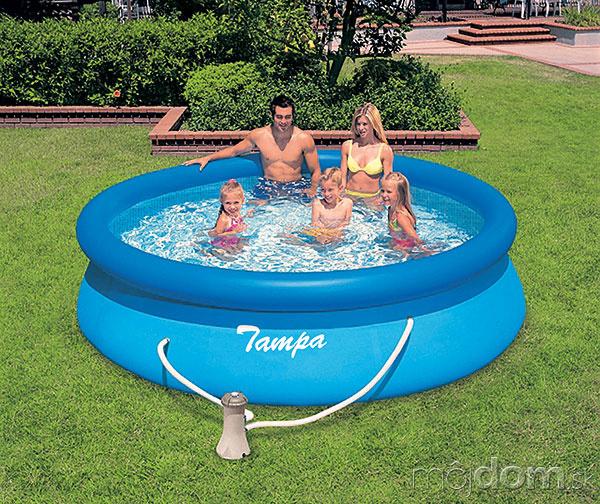 Medzi najpopulárnejšie nadzemné bazény
