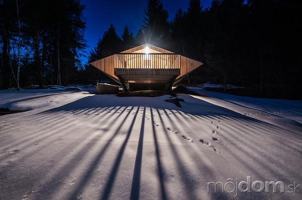 Malá chata ako UFO