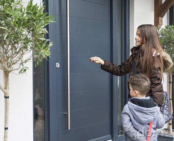Dvere, ktoré ochránia rodinné