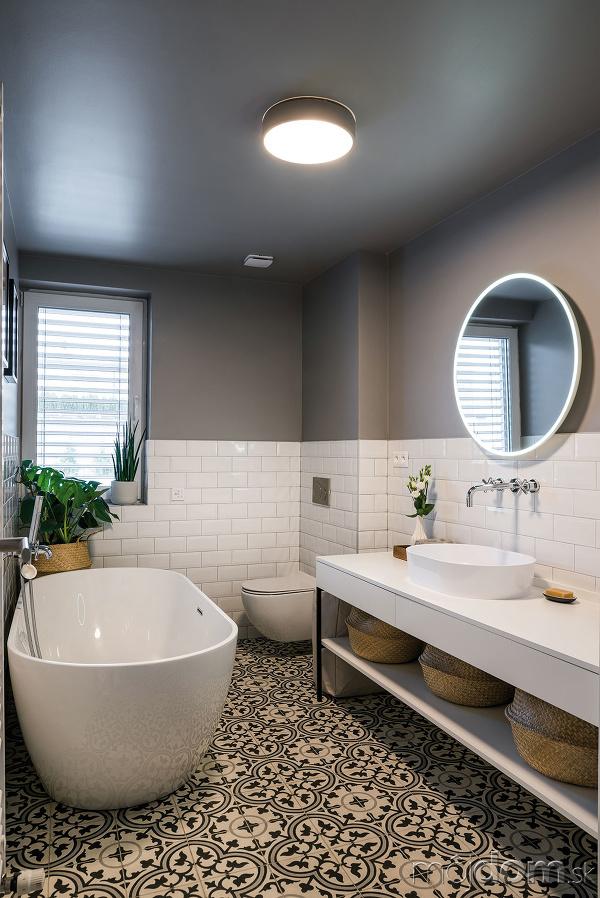 Kúpeľňa je jednoduchá ačistá.