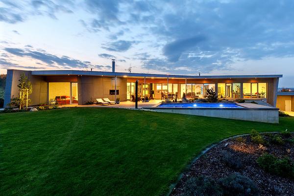 Dom, v ktorom býva
