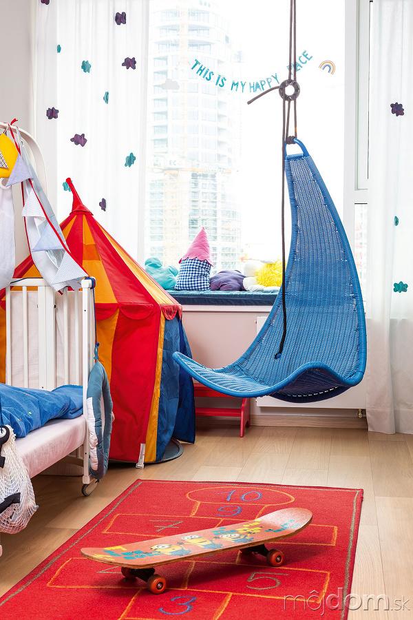 Detská izba bola ideálnym