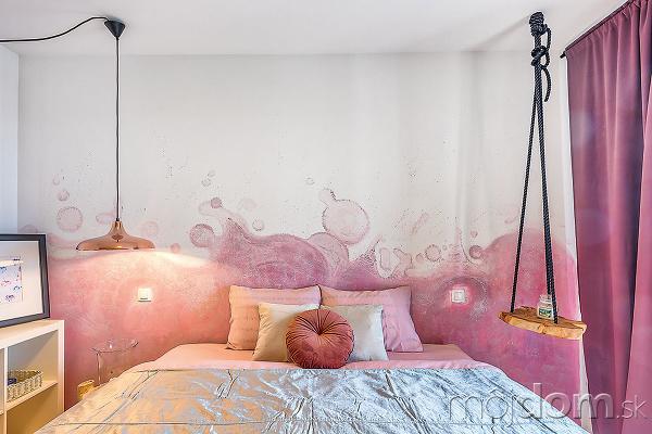 Spálňa prezrádza zcelého bytu