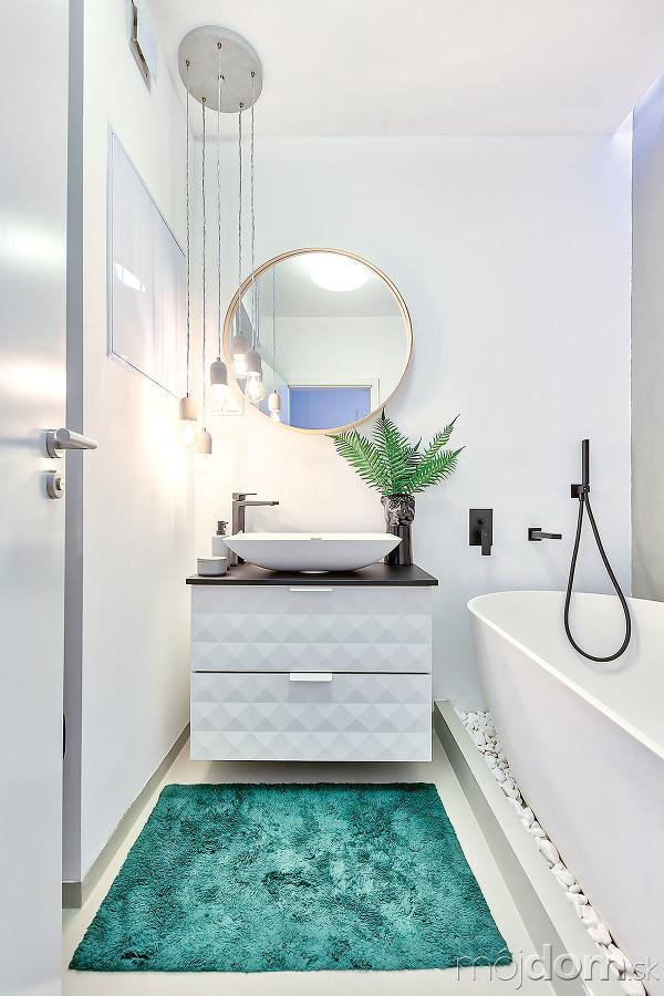 Kúpeľňa bola vbyte dokončená