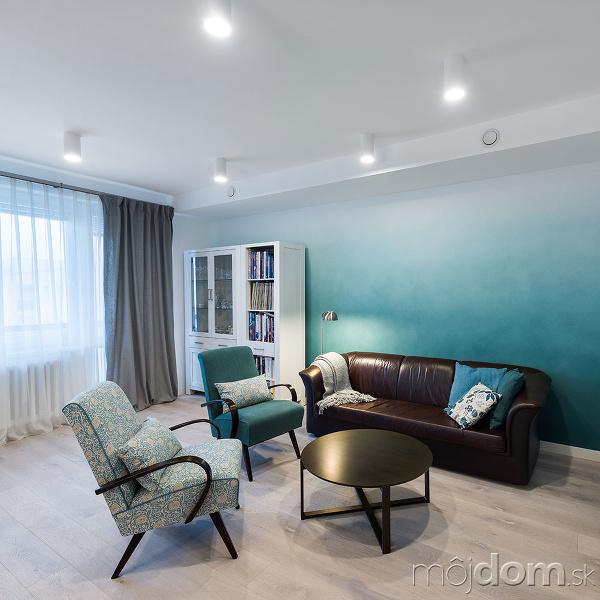 Panelákový byt s moderným