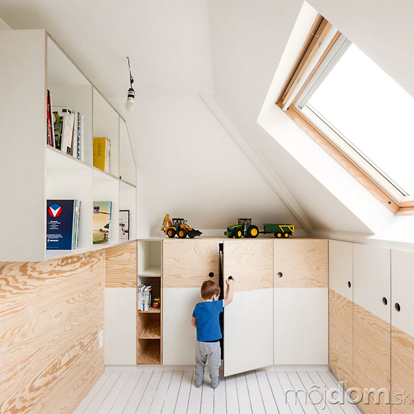 Izbu môžete deťom navrhnúť