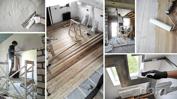 Byt počas rekonštrukcie