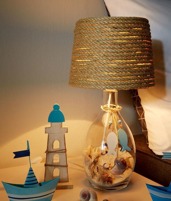 handmade lampa