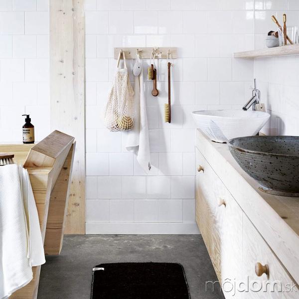 Betónová podlaha v kúpeľni