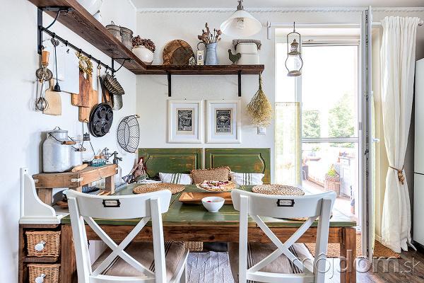 Kuchynský stôl má už