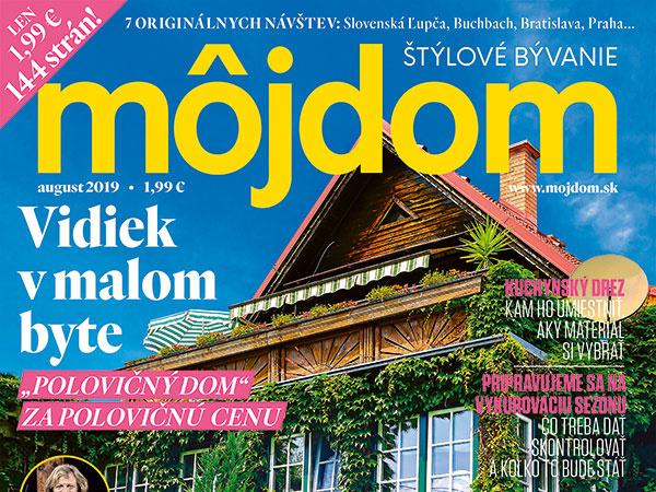 Nové vydanie časopisu Môj
