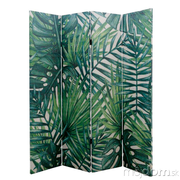 zelený paraván