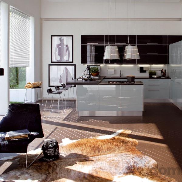 Spojenie kuchyne aobývacej izby