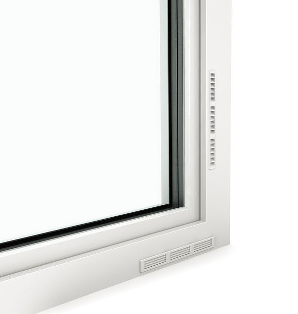 vetranie cez okno