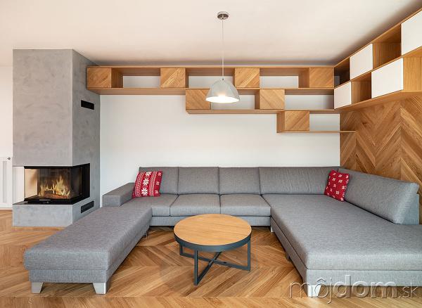 sedacia súprava v obývačke