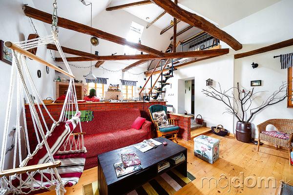 Zariadenie interiéru v obývacej