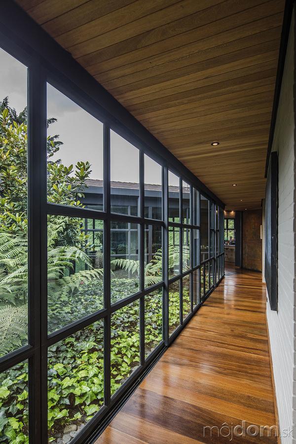 presklenné atrium Ortega Mora