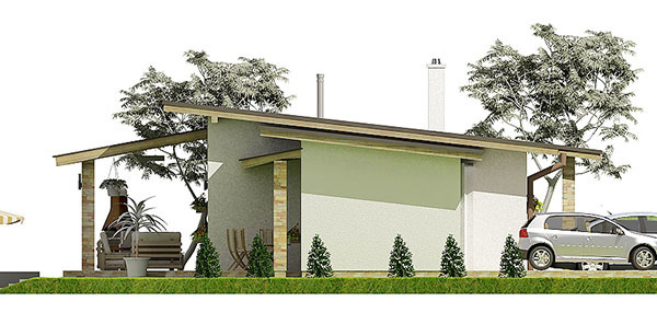 Projekt rodinného domu Javijani