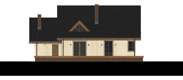 projekt rodinného domu RM