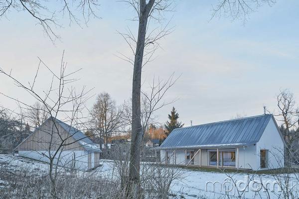 rodinný dom na vidieku