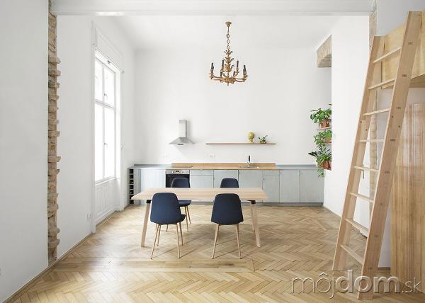 kuchyňa s jedáľňou