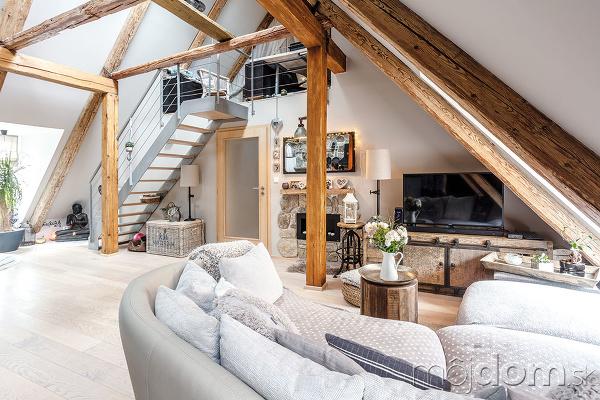 obývačka v pokdroví