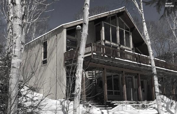 Moderná premena vidieckeho domu: