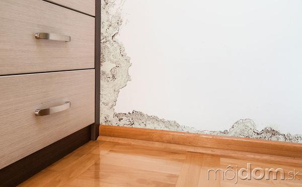poškodenie steny
