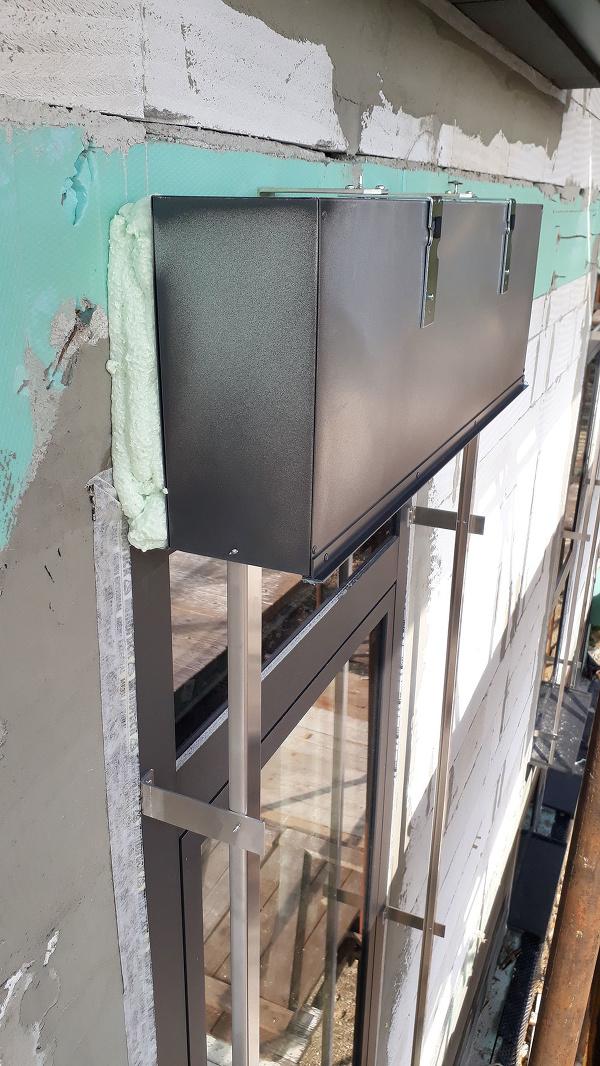Podkladový profil okna