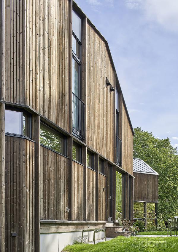 drevené opláštenie Risalleen House