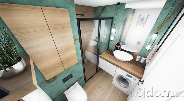 riešenie návrhu kúpeľne