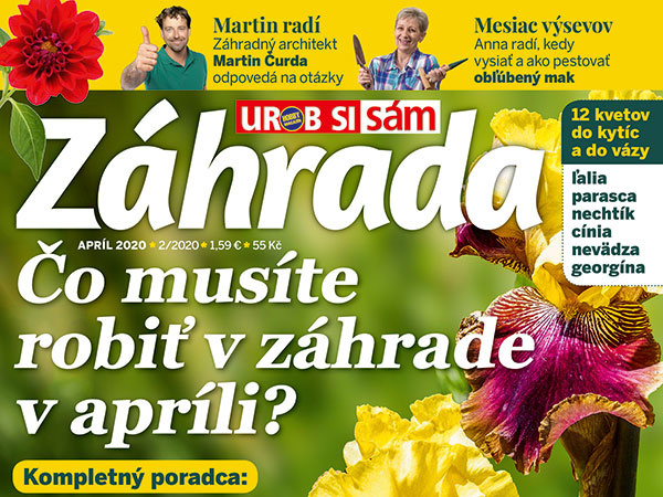 Časopis Záhrada Apríl 2020