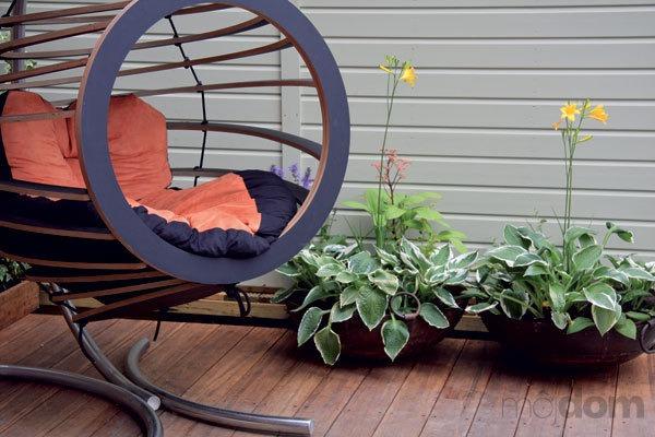 Záhrada stvorená na bývanie