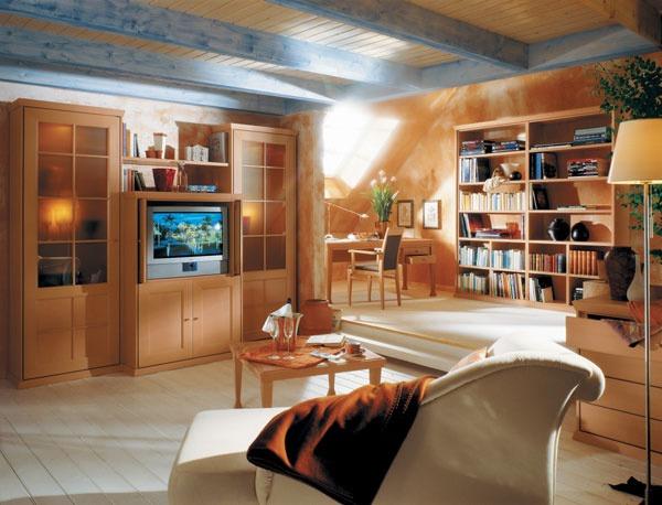 Usporiadanie nábytku v obývacej