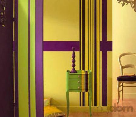Moderné farby stien v byte