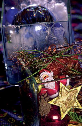 Jednoduchá vianočná dekorácia