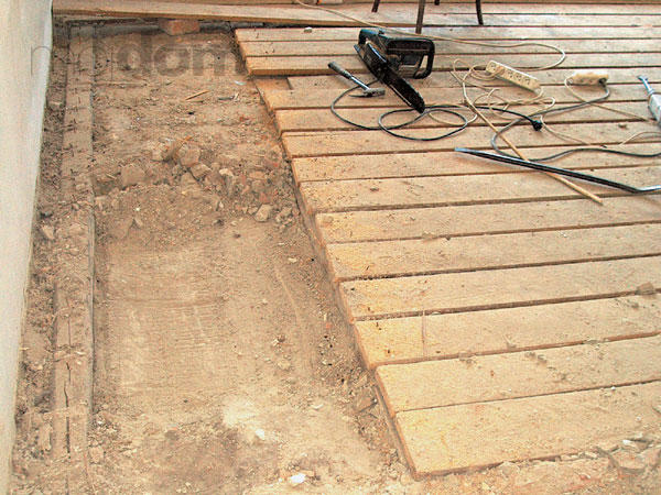 Drevené podlahy, ktoré pôvodne