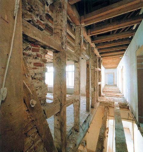 Zásah stavebníka do nosnej