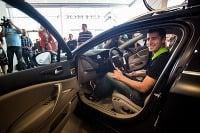 Peter Sagan jazdí na elegantnom vozidle Citroën C5 Tourer 3.0 V6 s hydropneumatickým pružením.
