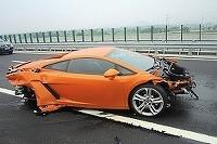 Lamborghini Gallardo - nehoda