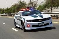 Chevrolet Camaro SS pribudlo do rúk policajtov v Dubaji.
