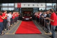 Tesla S prvý raz v Európe - tentoraz v Nórsku.