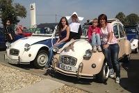 Citroën 2CV klub zorganizoval