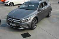 Mercedes-Benz GLA v predpremiére