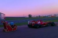 Ferrari F 138 - najrýchlejší záprah saní pre Santu