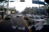 South Korea tow truck