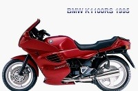 Motocykel BMW K1100RS spôsobil