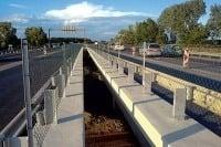 Oprava diaľnice - mostného