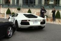 Parkoval Lambo v Monacu...
